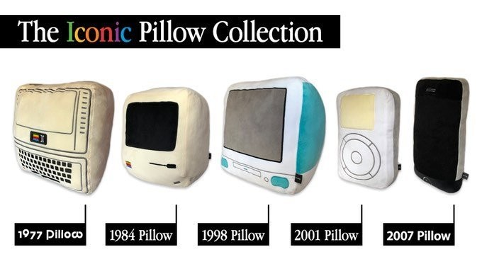MacRumors Giveaway: Win a Mac, iPhone, or iPod Plush From Throwboy's Iconic Pillow Collection
