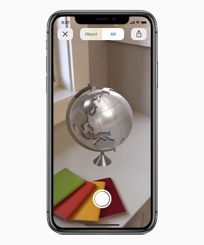 Apple Announces New USDZ Augmented Reality File Format Coming in iOS 12