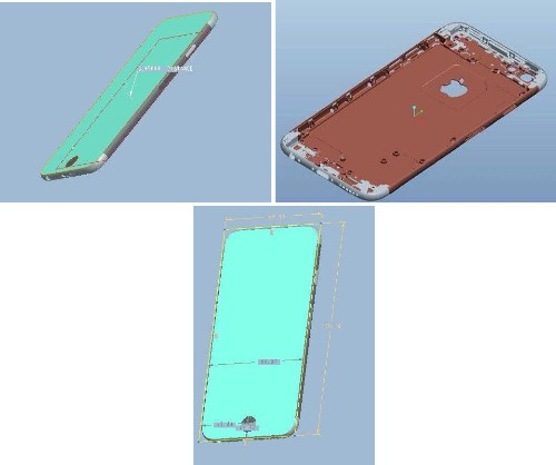 Renders of 4.7-Inch iPhone 6 Allegedly Sourced from Foxconn Surface