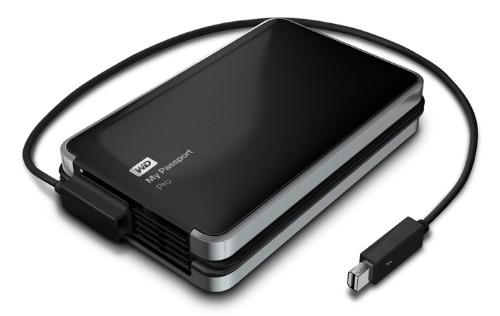 Western Digital Announces Thunderbolt-Powered My Passport Pro RAID Drive