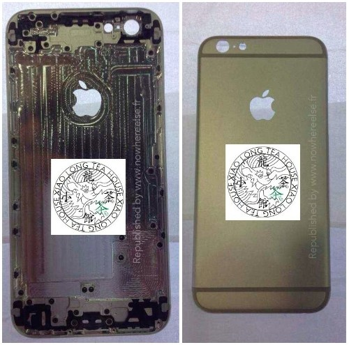 Alleged iPhone 6 Rear Shell Shown From Multiple Angles in New Photos