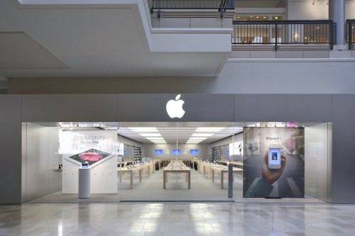 High Apple Store Traffic Distorting Mall Rent, Lifting Mall Sales