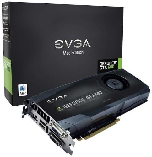 EVGA Announces GeForce GTX 680 Mac Edition Graphics Card for Mac Pro