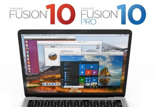 VMware Fusion 10 Coming in October With macOS High Sierra and Touch Bar Support