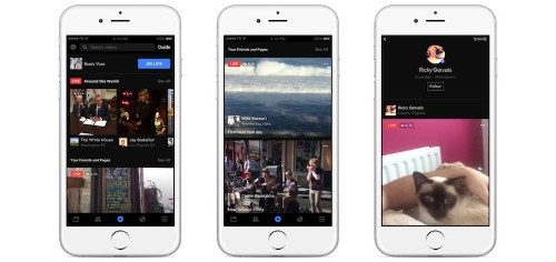 Facebook Rolls Out New Video Discovery Tab With Heavy Focus on Live Broadcasts