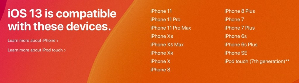 Rumor Claims iOS 14 to Support All the Same iPhones as iOS 13