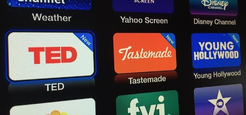 Apple Adds New Apple TV Channels TED, Tastemade and Young Hollywood