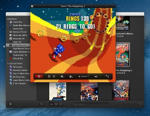 OS X Console Emulator 'OpenEmu 1.0' Launches
