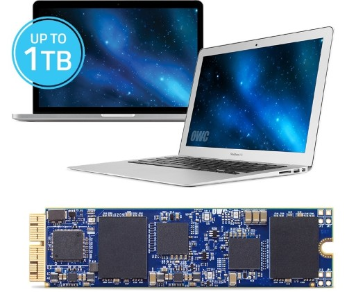 OWC Announces Aura Flash Storage Upgrades for Mid-2013 and Later Mac Laptops
