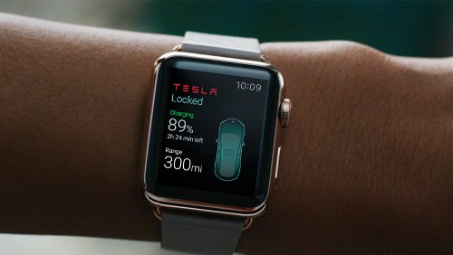 Third-Party Tesla App Provides Look at Opportunities and Limitations of Apple Watch Development [Updated]
