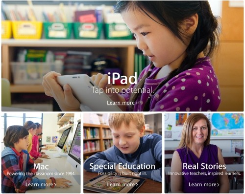 Apple Revamps and Expands its Education Page Ahead of iOS 7 Launch