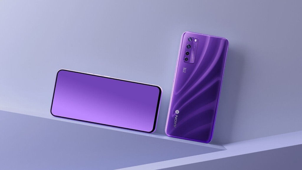 ZTE Launches World's First Phone With Under-Screen Selfie Camera