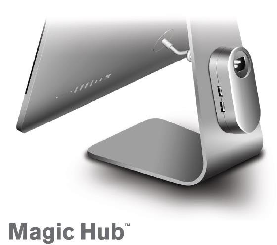 Mobee Debuts Discreet 'Magic Hub' for iMac/Apple Display With 4 USB 3.0 Ports
