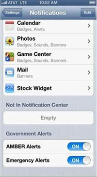 AT&T to Send Emergency Alerts to U.S. iPhone 4S/5 Owners [Update: iPhone 4 Users Also Included]