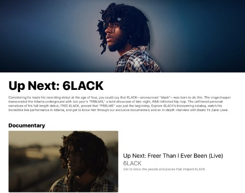 Apple Music Introduces 'Up Next' Feature to Promote New Artists