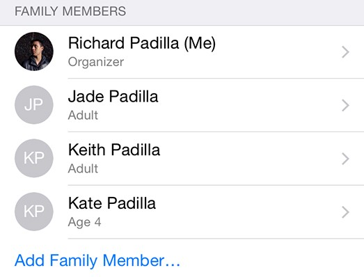 How to Enable Family Sharing in iOS 8 and OS X Yosemite