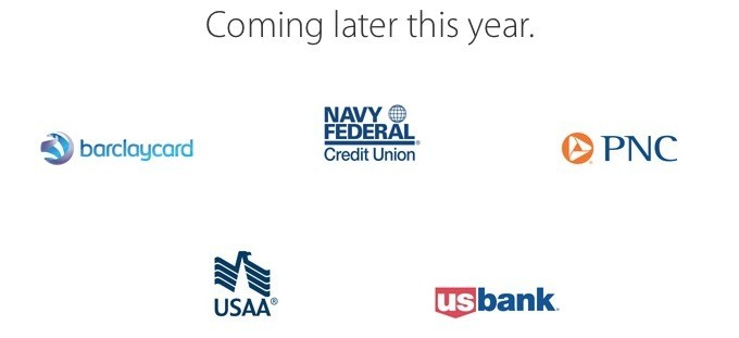 Next Wave of Apple Pay Bank Launches Begins With Navy Federal, USAA, US Bank, PNC