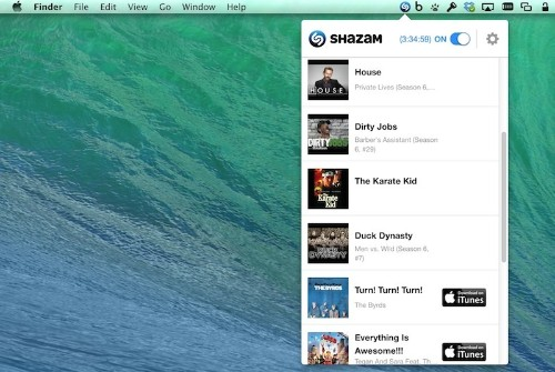 Shazam Brings Always-On Music and TV Recognition to Mac With Free Menu Bar App