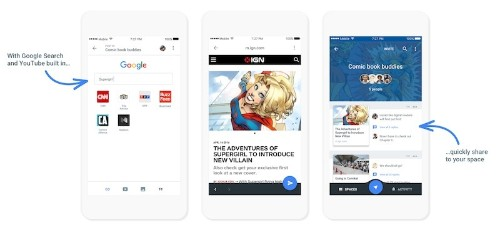Google Combines Search, YouTube, and Chrome Into New Sharing App 'Spaces'