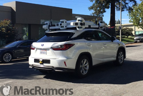 Apple Grows Self-Driving Car Fleet to 62 Vehicles in California