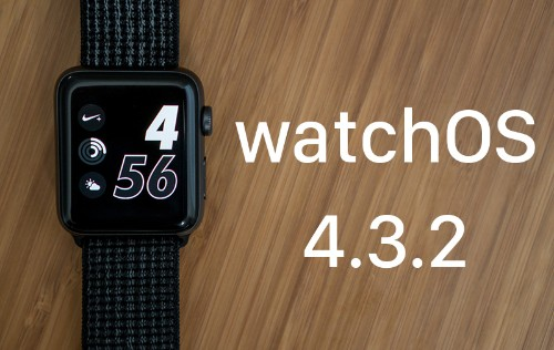 Apple Releases New watchOS 4.3.2 Software for Apple Watch