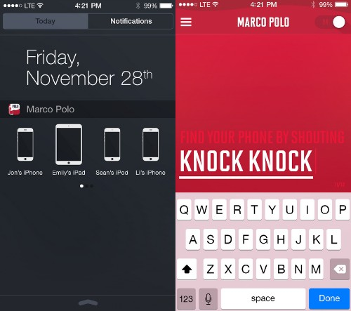 'Marco Polo' App for Finding Misplaced iOS Devices Updated With Custom Responses and More