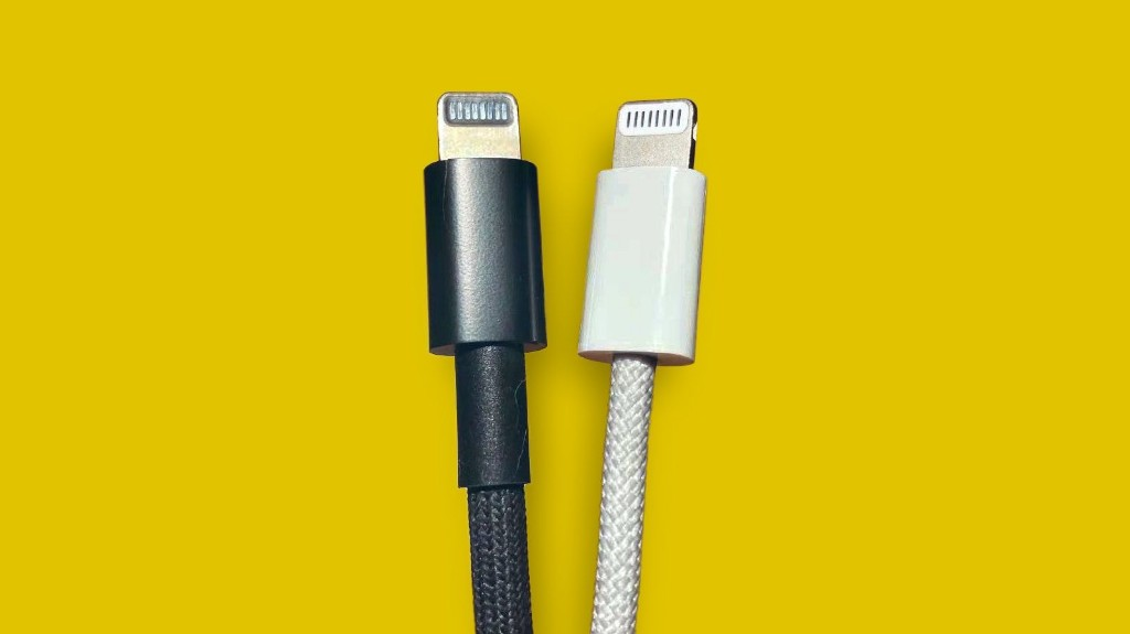 New Images of Rumored 'iPhone 12' Braided Lightning to USB-C Cable Emerge [Update: Black Cable Likely From Mac Pro or Future iMac Pro]