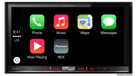 First CarPlay-Compatible In-Dash Systems Now Available From Pioneer