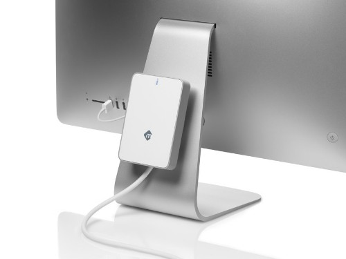 mLogic Debuts mBack External Hard Drive That Attaches to iMac and Apple Displays