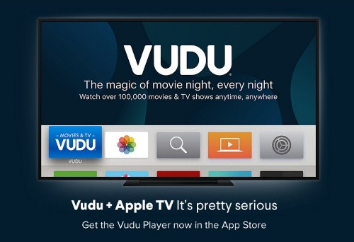 VUDU App Officially Launches on Apple TV