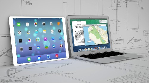 Apple to Launch 12.9-Inch iPad in Early 2015