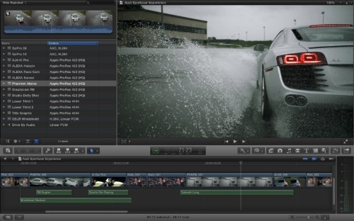 Apple Updates Final Cut Pro X, Motion, and Compressor Alongside New Pro Marketing Push