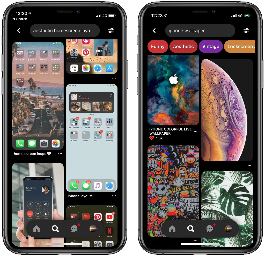 iOS 14 Customization Helps Pinterest App Break Daily Download Record