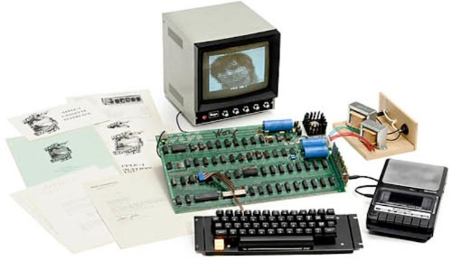 Rare Working Apple 1 Computer Headed to Auction