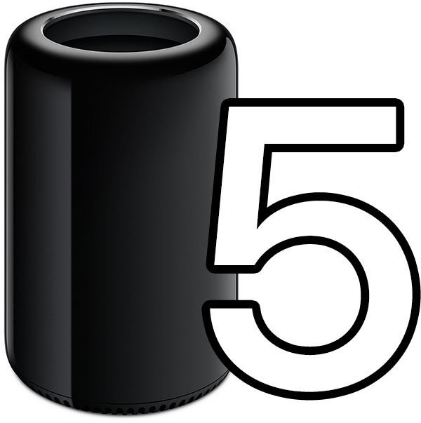 Apple's Newest Mac Pro Turns Five Years Old Today