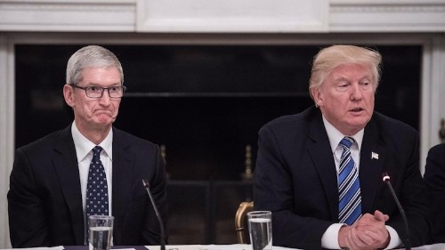 Apple Says Trump's Tariffs Will Reduce its Economic Contributions and Global Competitiveness