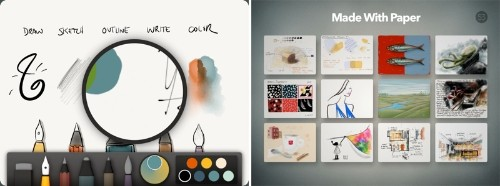 Paper by FiftyThree Updated with Pinch-to-Zoom and New Gallery Feature