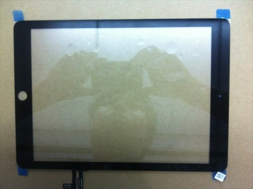 New Photos of the Black iPad 5 Front Panel and Digitizer Assembly