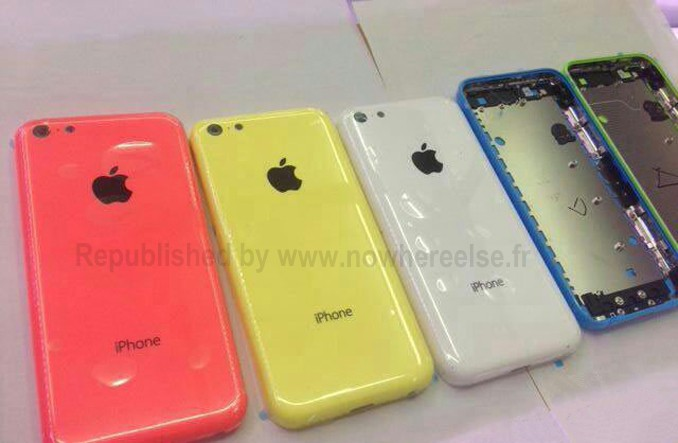 Possible Photo of Lower-Cost Plastic iPhone Rear Shells Shows New Blue Color