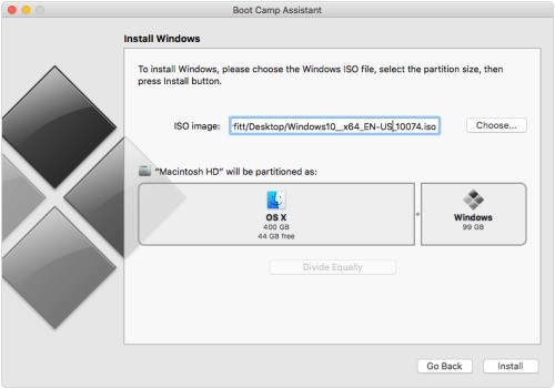 USB Drives No Longer Required to Install Windows with Boot Camp in OS X El Capitan