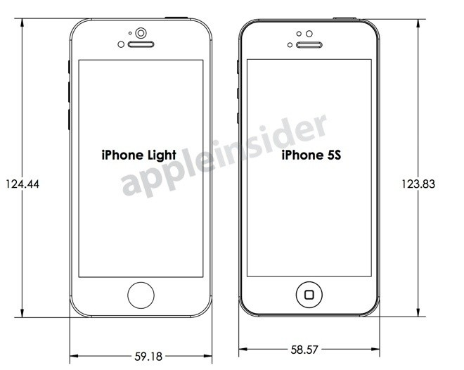 Design Drawings Reveal Case Makers' Expectations for iPhone 5S and Lower-Cost iPhone