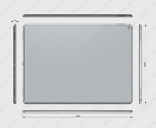 12.9-Inch 'iPad Pro' Rumored to Feature NFC, Bluetooth Stylus, Force Touch and USB-C