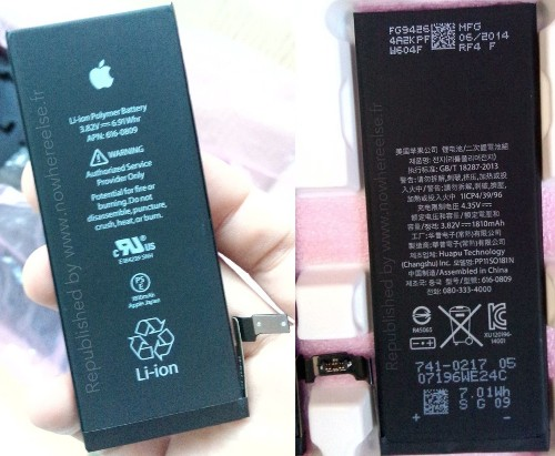 More Photos Point Toward 1,810 mAh Battery for 4.7-Inch iPhone 6
