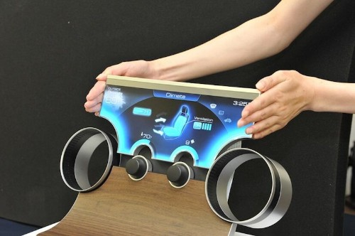 Sharp's 'Free-Form Displays' with Ultra-Thin Bezels Make New Display Shapes Possible