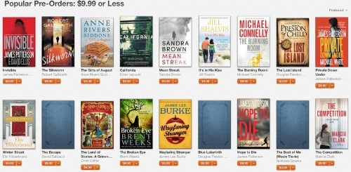 Apple Offers Discounts on Hachette Pre-Orders Amid Publisher's Dispute With Amazon