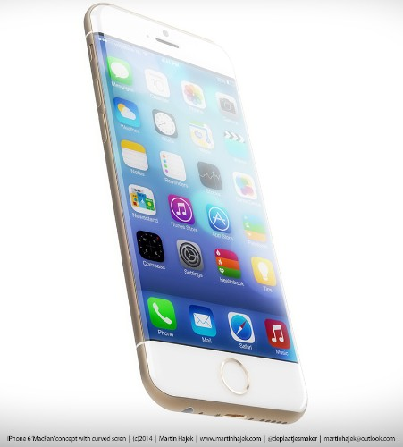 New iPhone 6 Renderings Highlight Curved Display, Rounded Corners