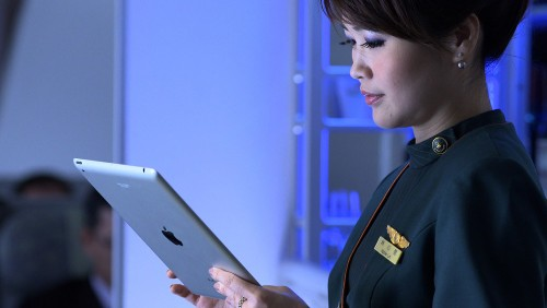 Qantas Hands Out iPads With Access to Streamed In-Flight Entertainment