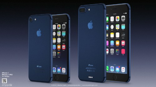 Concept Imagines What a 'Deep Blue' or 'Dark Blue' iPhone 7 Could Look Like