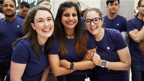 Apple and Tim Cook Celebrate International Women's Day