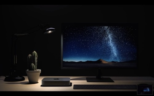Apple Announces New Space Gray Mac mini With 4-Core or 6-Core Intel Processor and Up to 64GB RAM, Starting at $799
